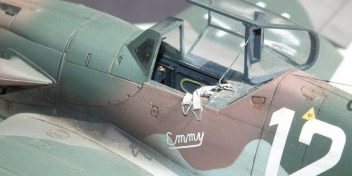 Bf.109K-4'Emmy'close-up